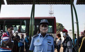 Covid-19: Pandemia causou morte de 22 polícias em Moçambique