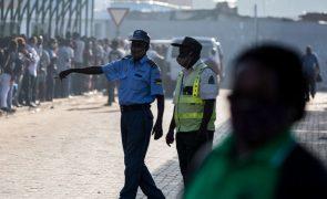 Covid-19: Polícia moçambicana admite