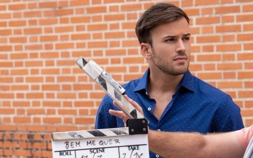 David Carreira Regressa às gravações da novela da TVI ainda com lesões no braço