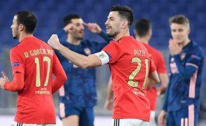 Benfica empata com Arsenal para a Liga Europa em casa emprestada