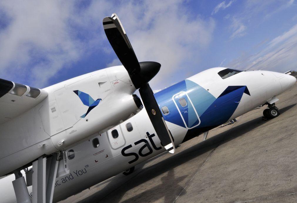 SATA garante que continuará a voar do Faial, Santa Maria e Pico para Lisboa