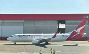 Covid-19: Companhia aérea australiana Qantas opera na próxima semana voo para Díli