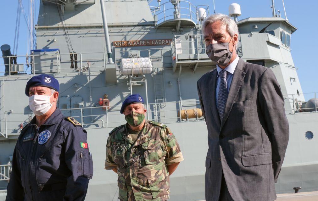 UE/Presidência: Portugal quer parceria de defesa da UE com Reino Unido