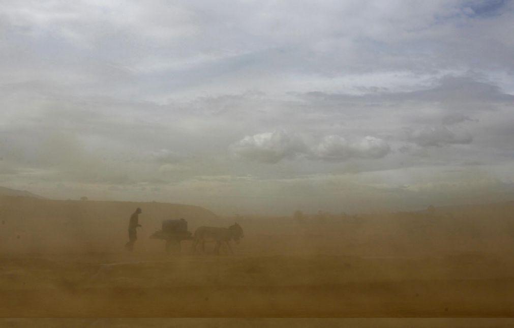 Nuvem de poeira do deserto do Saara deverá sobrevoar a Europa