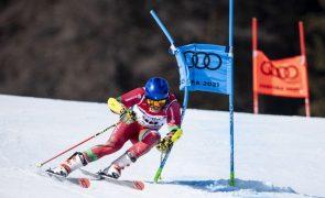 Ricardo Brancal foi 40.º na final de slalom gigante nos Mundiais de esqui alpino