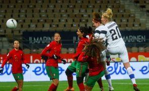 Portugal perde e hipoteca apuramento direto para Europeu feminino