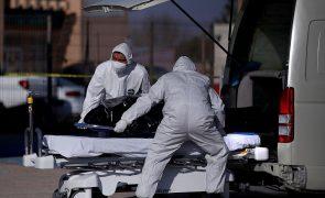 Covid-19: México regista 857 mortos em 24 horas