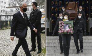 Carmen Dolores Marcelo Rebelo de Sousa no último adeus à atriz | Fotos