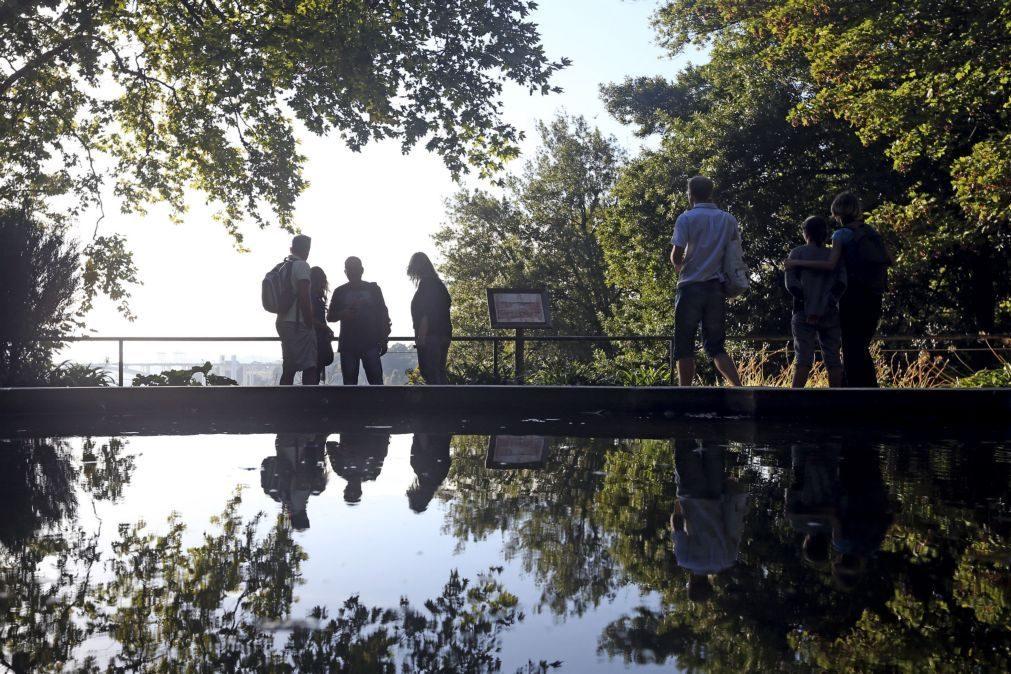 Lago dos Jardins do Palácio de Cristal no Porto requalificado por 131 mil euros