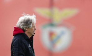 Jesus lembra que Benfica ainda não teve grandes penalidades na Liga