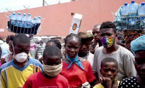 Covid-19: Angola reporta 21 novos casos e 14 pacientes recuperados