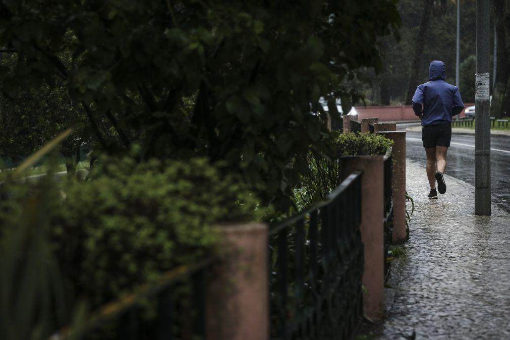 Mau tempo: Cascais regista pluviosidade superior às grandes cheias de 1983
