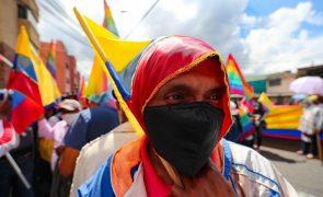 Segunda volta das presidenciais no Equador entre Arauz e o conservador Lasso