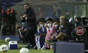 «Novo deslize complicará título ao FC Porto», assume Sérgio Conceição