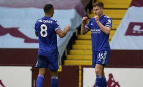 Leicester bate Aston Villa e isola-se provisoriamente no segundo lugar em Inglaterra