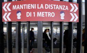 Covid-19: Itália soma 232 mortes e 13.452 novos contágios nas últimas 24 horas