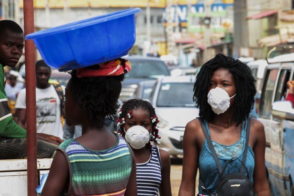 Covid-19: Angola regista 20 novos casos e mais um óbito
