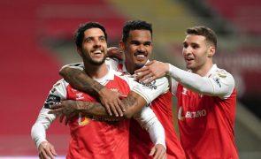 Sporting de Braga sobe provisoriamente ao segundo lugar ao vencer Tondela