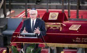 Presidente alemão apela ao combate ao antissemitismo em ano comemorativo