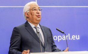 Costa diz que o desafio é identificar projetos do PRR exequíveis até 2026 com potencial de reforma