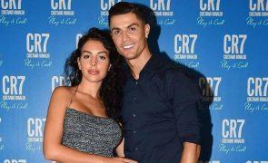 Georgina Rodriguez e Cristiano Ronaldo Gato da família atropelado e nos Cuidados Intensivos