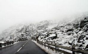 Estradas da Serra da Estrela reabriram hoje