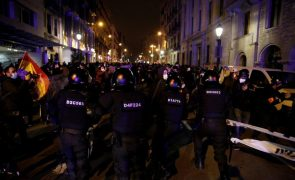Seis noites de distúrbios na Catalunha com 109 detidos e mais de 100 feridos
