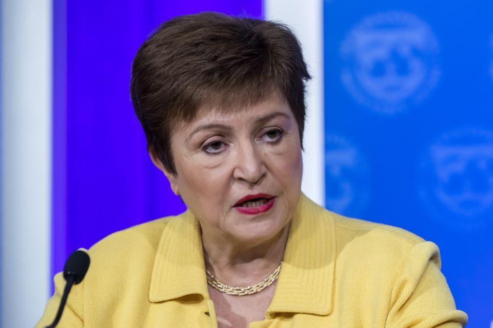 Diretora-geral do FMI alerta para 'Grande Divergência' em 2021