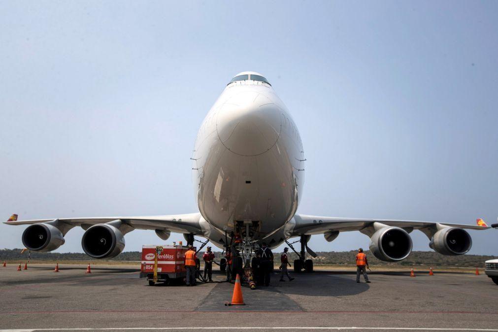 Países Baixos iniciam investigação a incidente com cargueiro Boeing 747-400