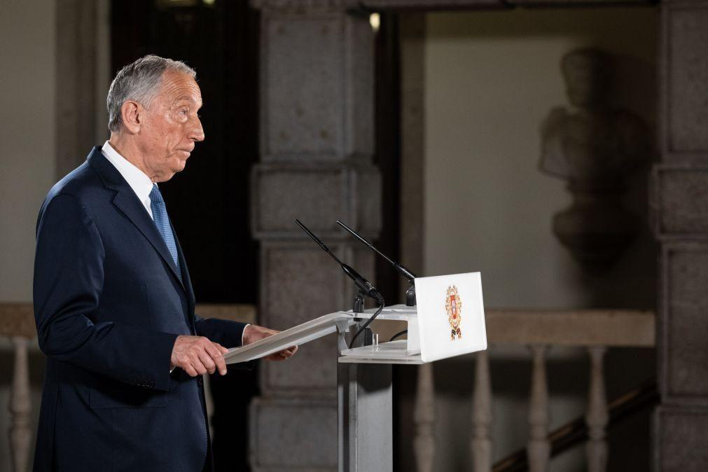 Marcelo ouve partidos entre terça e quarta-feira sobre renovação do estado de emergência