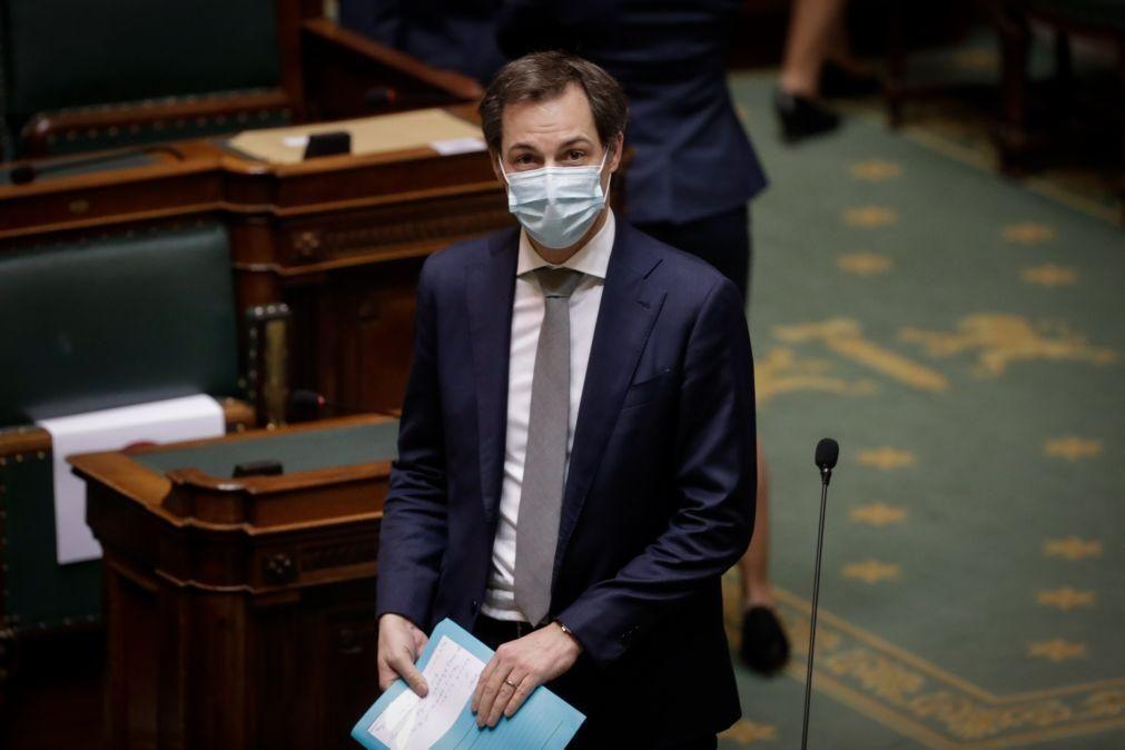 Covid-19: Bélgica exclui qualquer alívio das restrições no próximo mês