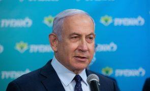 Netanyahu só voltará a tribunal a 05 de abril, após eleições de 23 de março
