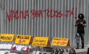 Covid-19: Mais 639 mortes e 26.986 casos em 24 horas no Brasil