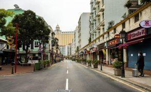Covid-19: Macau com menos 80% de visitantes em janeiro em termos anuais