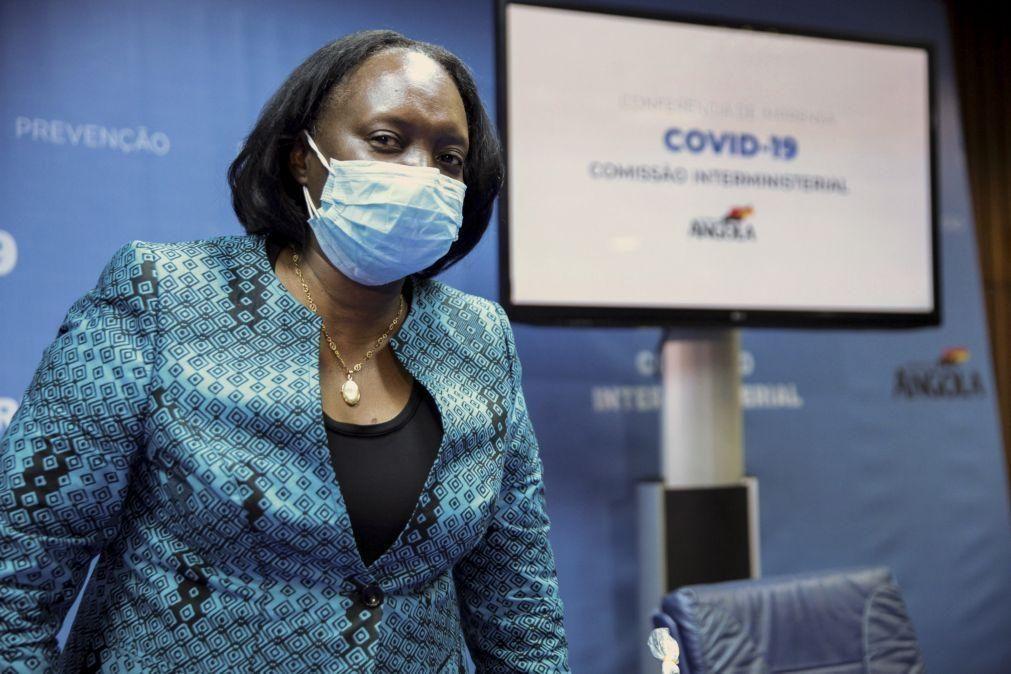 Covid-19: UNITA quer ouvir ministra da Saúde no parlamento sobre a pandemia