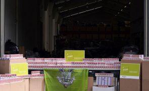 ASAE apreendeu em Matosinhos 12 mil maços de tabaco de contrabando