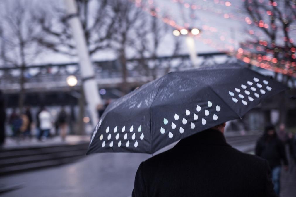 Previsão de regresso da chuva nesta quarta-feira