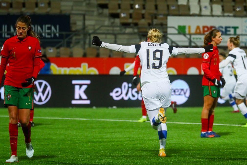 Portugal nos 'play-offs' de acesso ao Europeu feminino, apesar de bater Escócia
