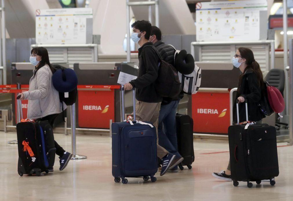 Covid-19: Espanha prolonga restrições aos voos do Reino Unido, Brasil e África do Sul