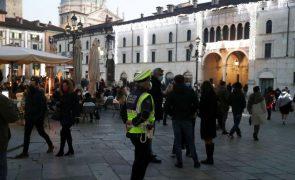 Covid-19: Itália soma 13.314 novos casos e reforça restrições na região norte