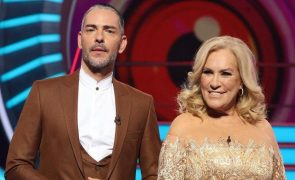 Teresa Guilherme e Cláudio Ramos reagem à mudança das galas para sábado