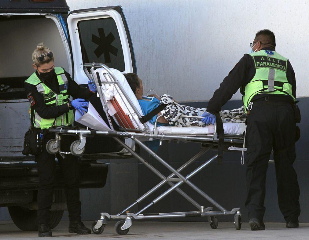 Covid-19: México com 1.273 mortos em 24 horas