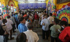 Covid-19: Índia com 104 mortos e 13.742 novos casos