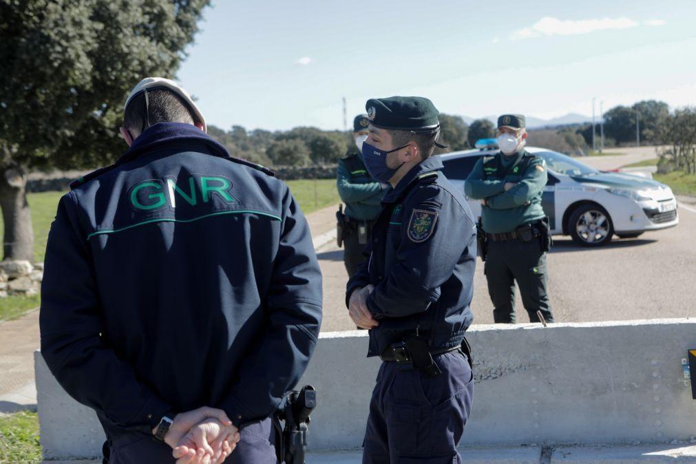 Covid-19: GNR vigia diariamente fronteiras fechadas da região da Guarda