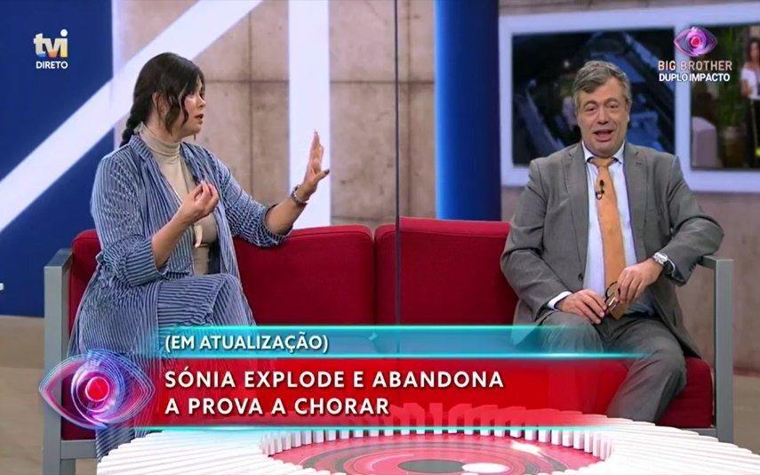 """Gisela Serrano exalta-se com Quintino Aires: """"Não lhe admito"""""""