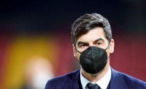 Paulo Fonseca quer Roma com ambição de ganhar ao Sporting de Braga