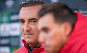 Sporting de Braga quer discutir eliminatória
