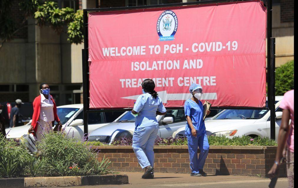 Pandemia está a tornar-se mais mortal em África
