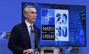 Líderes da UE discutem na 6.ª feira política de segurança e defesa com Stoltenberg