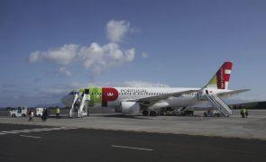 Covid-19: Voo da TAP do Brasil para Lisboa traz 100 pessoas em situação prioritária